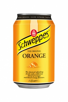 Schweppes Orange 0,33l